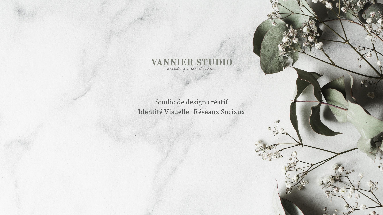 Vannier Studio - Identité Visuelle & Réseaux sociaux pour entrepreneuses